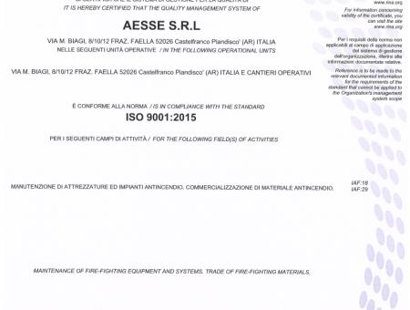 L'IMPORTANZA DI ESSERE UN'AZIENDA CERTIFICATA ISO 9001:2015